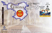 Spain 2018 FDC Girona 12 Months 12 Stamps 1v S/A Cover Ducks Birds Stamps