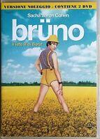 BRUNO (2009) Sacha Baron Cohen DVD EX NOLEGGIO - MEDUSA ( 1 DISCO)