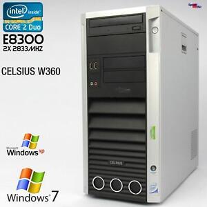 FSC Fujitsu Siemens Celsius W360 Computer WORKSTATIOND2587 PC Parallel RS-232