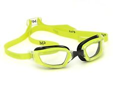 MP Michael Phelps Xceed Swimming Goggles - Clear Lens - Yellow Black