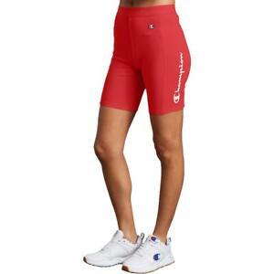 Champion Womens Red Bike Short Athletic XS BHFO 4044