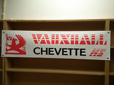 Vauxhall Chevette Hs Coche Clásico Taller Garaje Banner