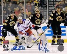 Dennis Seidenberg Dougie Hamilton Boston Bruins Signed Autographed 8x10 Rask
