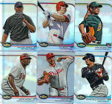 "2012 TOPPS  BASEBALL ""FINEST""   REFRACTORS    PICK YOUR OWN 10 CARD LOT"