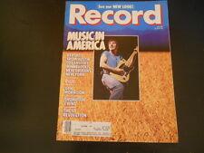Van Morrison, Thompson Twins - Record Magazine 1985