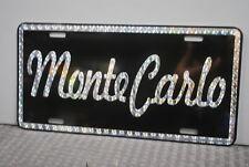 RETRO 1970'S PRISM MONTE CARLO METAL LICENSE PLATE 70'S LOWRIDER STREET FREAK