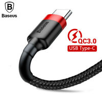 Type C USB-C Charger Fast Charging Sync Data Cable 2M For Samsung S9 S8 HTC LG