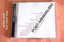 Post-Minimalism - 4 pays - 16 compositeurs - Boitier neuf - 2 CD Trace