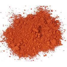 ORANGE Pigment, Colour, Dye, 500g Iron Oxide