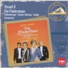 ROTHENBERGER/GEDDA/BOSKOVSKY - DIE FLEDERMAUS 2 CD OPERETTE NEU STRAUß