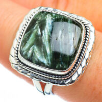 Seraphinite 925 Sterling Silver Ring Size 8.5 Ana Co Jewelry R44438F