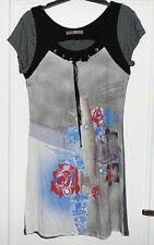 Jolie robe motifs fleurs SOGGO T 38 TBE