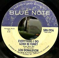 Lou Donaldson - Everything I Do Gonh Be Funky/Minor Bash (1970, 45RPM) VG