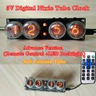 5V Digital Nixie Tube Clock ZM1020 Z560M Nixie Clock Vintage Retro Table Clock