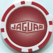 3 pc 3 colors 11.5 gram JAGUAR car logo poker chip sample set #134