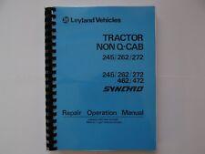 Leyland Non Q-Cab 245/262/272 Workshop Manual