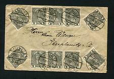 Österreich - Massen MeF Nr 139x mit 10 Werten von 1913   (#698)