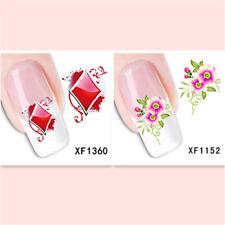 2Sheet/New Fashion Trend Beautifully Beautiful DIY Nail Stickers XF1360+1152