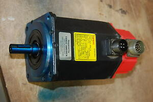 GE Fanuc, A06B-0513-B504- R, 85v, 3ph, 2000 RPM,  Repaired by Fanuc USA
