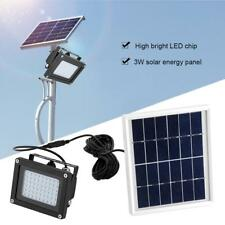 Solar Powered 54 LED Sensor Light Waterproof Outdoor Garden Patio Security Lamp
