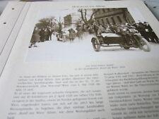 Motorrad Archiv Alltag 5121 Qualitätsfahrt Rund um Wien 1928