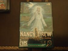 Nancy Drew #19: The Haunting of Castle Malloy (PC) - New SEALED ** Combine Ship