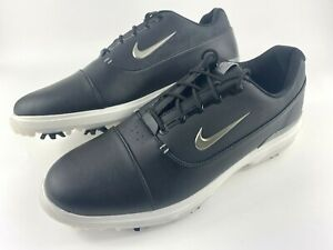 Nike Air Zoom Victory Pro Golf Shoes Leather AR5577-001 Black Men's Size 13 New