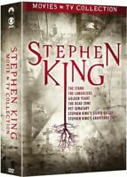 Stephen King: Movies and TV Collection (9 Disc) DVD NEW