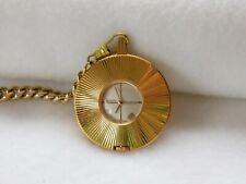 Vintage Seiko 21-7150 17 Jewels Wind Up Pocket/Pendant Watch. Working.