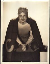 MADGE EVANS Original Vintage 1930s 10x13 GEORGE HURRELL MGM DBW Portrait Photo