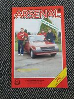 Arsenal v Tottenham 1986 First Division 1/1/86! FREE UK POSTAGE! LAST ONE!