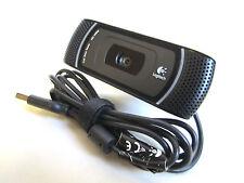 Logitech B910 HD 1080P Carl Zeiss Tessar USB Webcam With Microphone