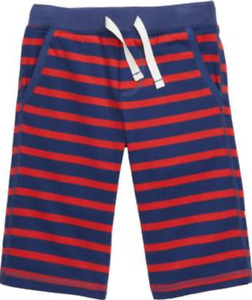 ❤ MINI BODEN boys baggies shorts NEW Stripe navy blue red 5 5T NWT FREESHIP