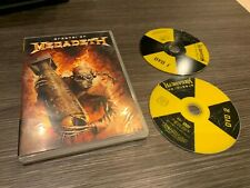 MEGADETH DVD ARSENAL OF MEGADETH DOUBLE DVD