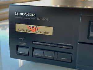 PIONEER PD-S904 HI-End Stable Platter CD Player (2) - Working Well