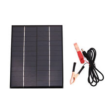 Car Auto Boat Waterproof Polycrystalline 5.5W 12V Solar Panel Battery Charger