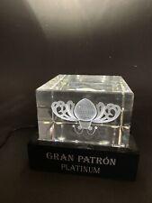 PATRON Tequila LED Acryl Laser Reklame Deko Bar PATRÓN NEU