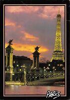 B73619 La tour eiffel et le pont alexandre II Paris France