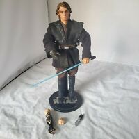 """SIDESHOW STAR WARS Anakin Skywalker 12"""" 1/6 ACTION FIGURE SITH LORD LOOSE"""
