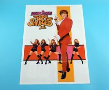 DOUBLE SIDED FOLDOUT POSTER AUSTIN POWERS THE SPY WHO SHAGGED ME / A.J. HITKRANT
