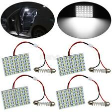 4X WHITE LED DOME MAP INTERIOR LIGHT BULB SMD 36-LED PANEL XENON HID LAMP