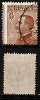Varietà - 1908 - Michetti  cent 40 - sassone 84n -  Dentellato spostata a destra