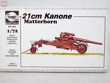 Planet Models Matterhorn 21 cm Cannon 1:72 Resin MV044 modélisme static
