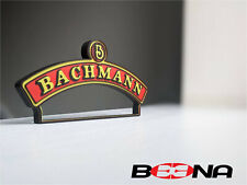 More details for decorative self-standing bachmann logo display