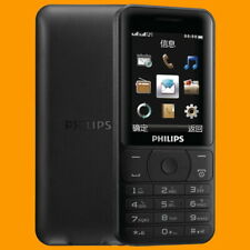 Philips E180 Black FM 85 Days Dual SIM Standby GSM 2G Quadband Mobile Cell Phone