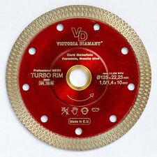 VD Turbo Rim Super Thin Mesh Diamond Blade Porcelain Granite Hard Tile 5 inch