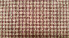 "Mill Creek Armand Harvest check/plaid red/thanksgiving yellow fabric 56"" 3 5/8yd"