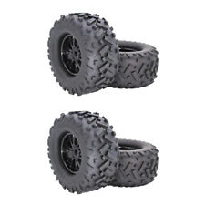 4pcs 17mm Wheel Hex Tire Tyre for 1/8 RC Bigfoot Monster Truck Replacements