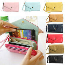 Fashion Wallet Purse Case Protector Bag for Cellphone Cards Portable