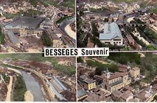 BESSEGES souvenir multivues timbrée 1961